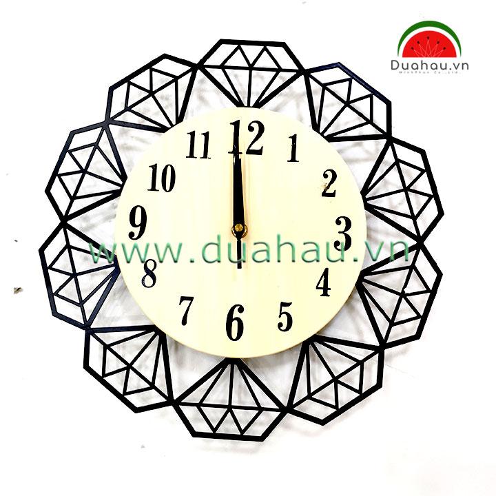 Đồng Hồ 40H10 Nghệ Thuật 40x40cm